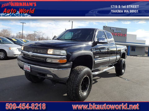 2000 Chevrolet Silverado 2500 for sale at Bruce Kirkham Auto World in Yakima WA