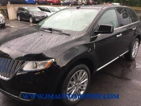2011 Lincoln MKX for sale at J & M Automotive in Naugatuck CT