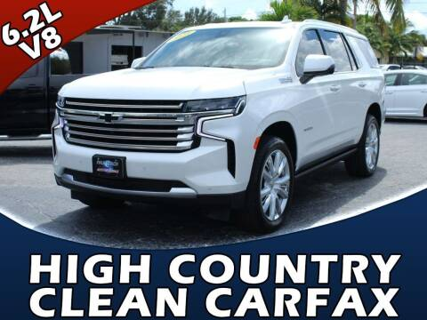 2021 Chevrolet Tahoe for sale at Palm Beach Auto Wholesale in Lake Park FL