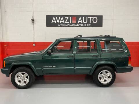2001 Jeep Cherokee for sale at AVAZI AUTO GROUP LLC in Gaithersburg MD