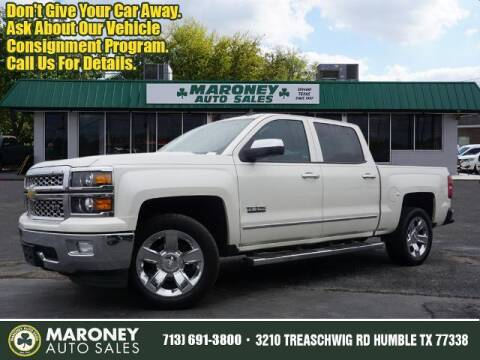 2014 Chevrolet Silverado 1500 for sale at Maroney Auto Sales in Humble TX