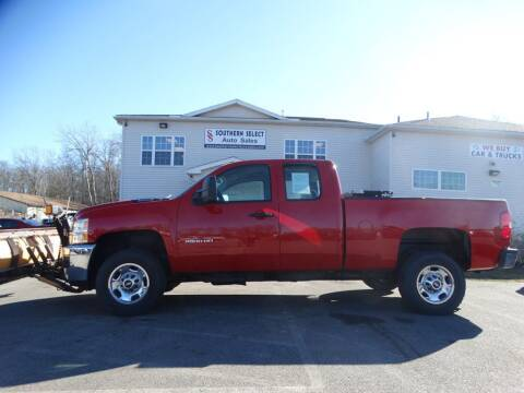 2011 Chevrolet Silverado 2500HD for sale at SOUTHERN SELECT AUTO SALES in Medina OH