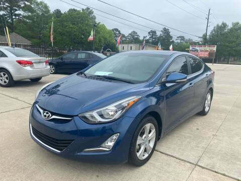 2016 Hyundai Elantra for sale at Auto Land Of Texas in Cypress TX