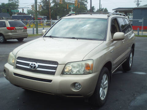 2006 Toyota Highlander Hybrid for sale at Marlboro Auto Sales in Capitol Heights MD