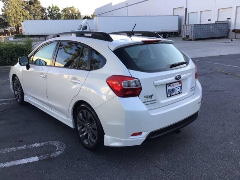 2012 Subaru Impreza for sale at Tri City Auto Sales in Whittier CA