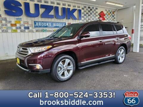 2011 Toyota Highlander for sale at BROOKS BIDDLE AUTOMOTIVE in Bothell WA