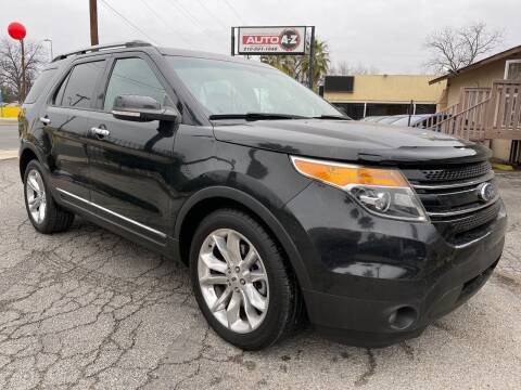 2015 Ford Explorer for sale at Auto A to Z / General McMullen in San Antonio TX