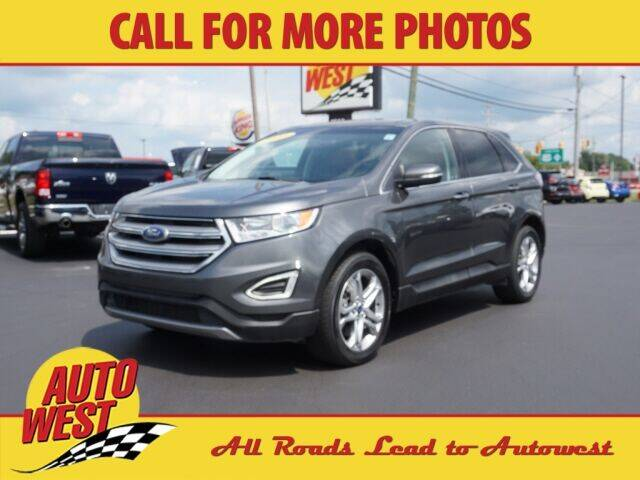 2016 Ford Edge for sale at Autowest of Plainwell in Plainwell MI
