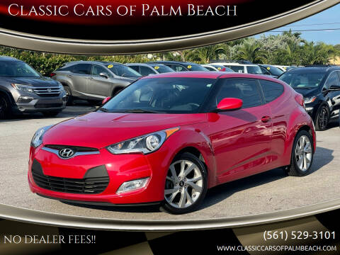 2017 Hyundai Veloster for sale at Classic Cars of Palm Beach in Jupiter FL