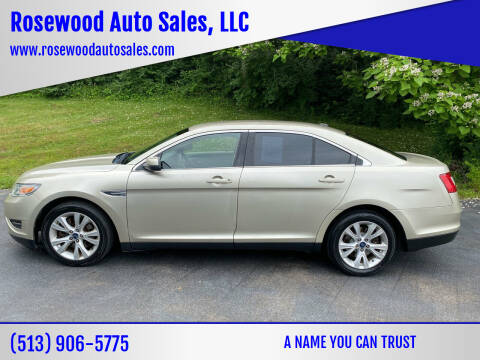 2011 Ford Taurus for sale at Rosewood Auto Sales, LLC in Hamilton OH