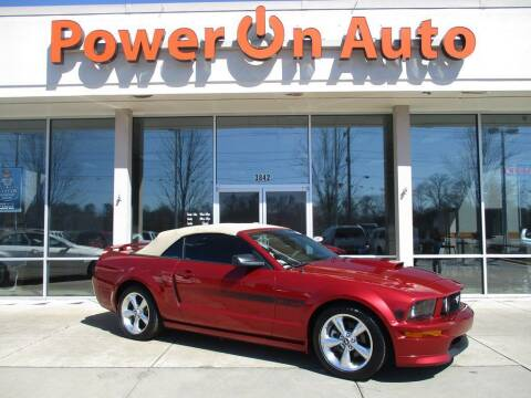 2007 Ford Mustang for sale at Power On Auto LLC in Monroe NC