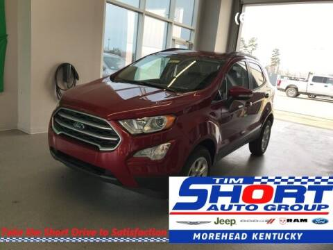 2020 Ford EcoSport for sale at Tim Short Chrysler in Morehead KY
