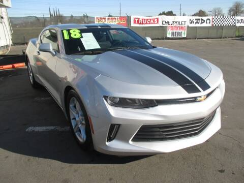 2018 Chevrolet Camaro for sale at Quick Auto Sales in Modesto CA