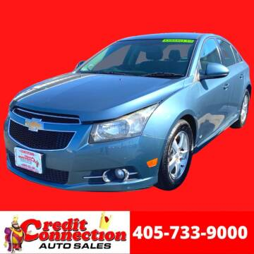 2012 Chevrolet Cruze for sale at Credit Connection Auto Sales in Midwest City OK