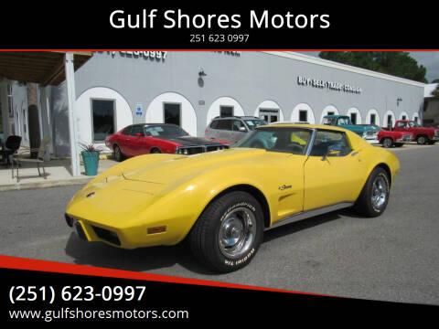 1975 Chevrolet Corvette for sale at Gulf Shores Motors in Gulf Shores AL