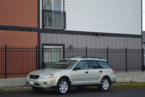 2006 Subaru Outback for sale at Skyline Motors Auto Sales in Tacoma WA