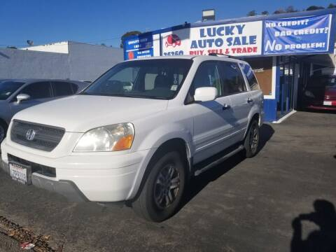 2003 Honda Pilot for sale at Lucky Auto Sale in Hayward CA