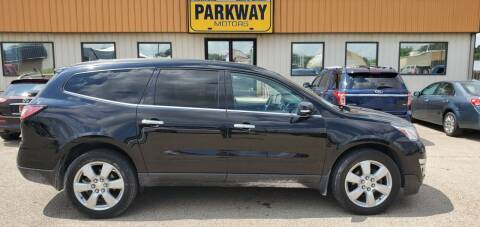 2016 Chevrolet Traverse for sale at Parkway Motors in Springfield IL