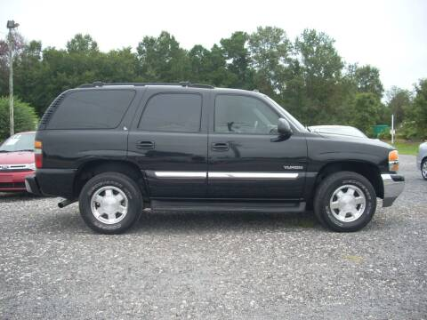 2004 GMC Yukon for sale at Car Check Auto Sales in Conway SC