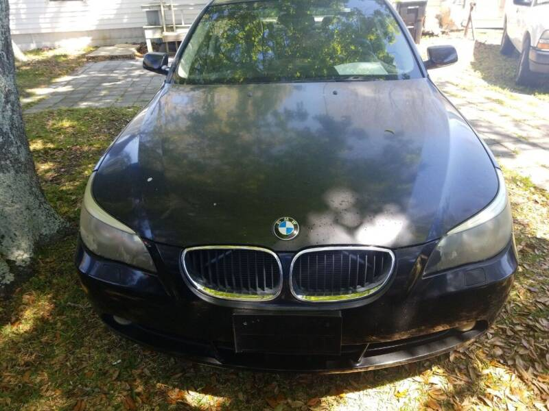 2004 BMW 5 Series for sale at Webb's Automotive Inc 11 in Morehead City NC