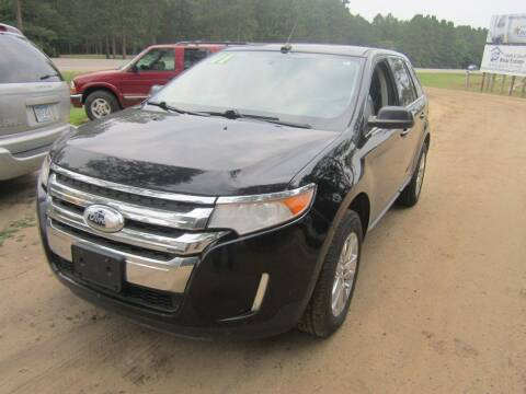 2011 Ford Edge for sale at SUNNYBROOK USED CARS in Menahga MN