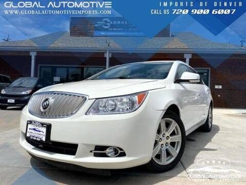 2011 Buick LaCrosse for sale at Global Automotive Imports of Denver in Denver CO