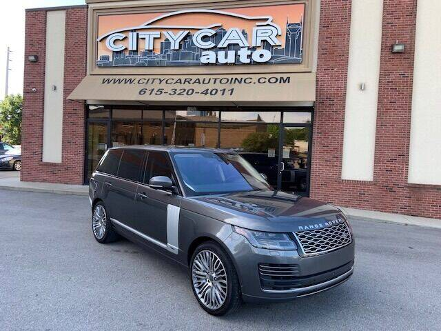 2019 Land Rover Range Rover for sale at CITY CAR AUTO INC in Nashville TN