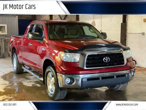 2007 Toyota Tundra for sale at JK Motor Cars in Pittsburgh PA