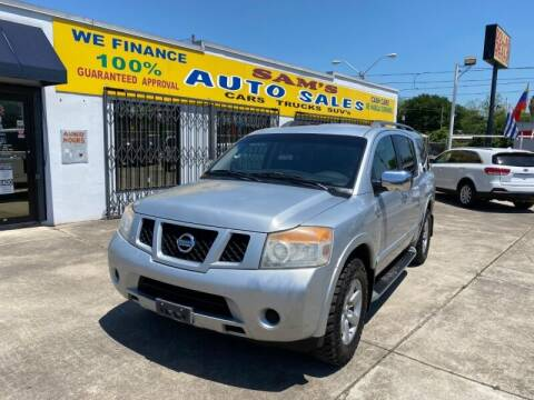 2010 Nissan Armada for sale at Sam's Auto Sales in Houston TX