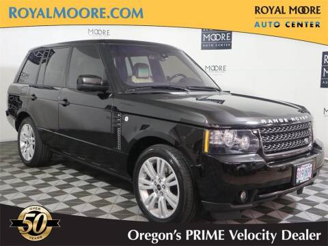 2012 Land Rover Range Rover for sale at Royal Moore Custom Finance in Hillsboro OR
