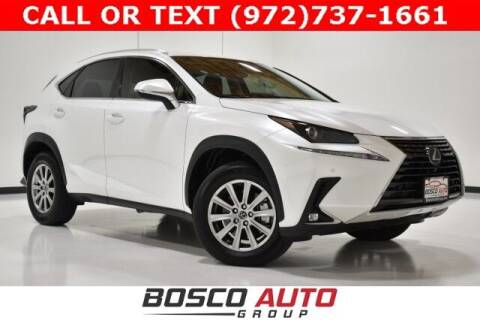 2020 Lexus NX 300 for sale at Bosco Auto Group in Flower Mound TX