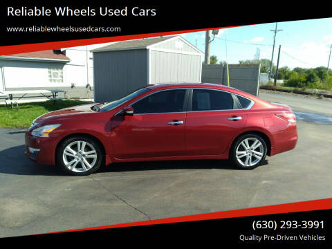 2013 Nissan Altima for sale at Reliable Wheels Used Cars in West Chicago IL
