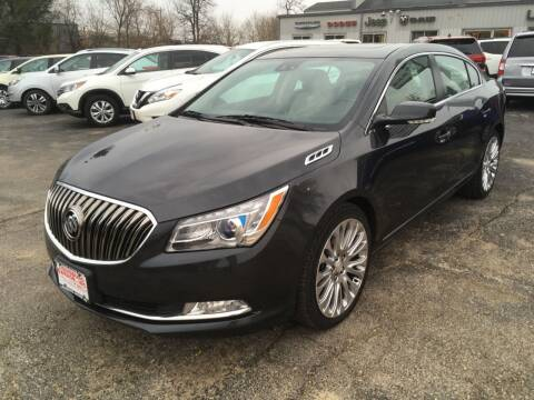 2015 Buick LaCrosse for sale at Louisburg Garage, Inc. in Cuba City WI
