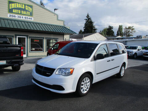 2014 RAM C/V for sale at Emerald City Auto Inc in Seattle WA