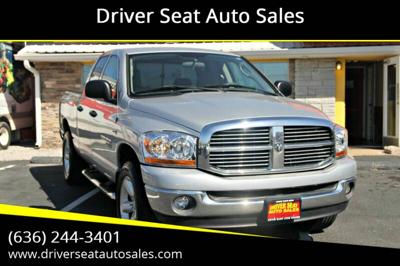 2006 Dodge Ram Pickup 1500 for sale at Driver Seat Auto Sales in St. Charles MO