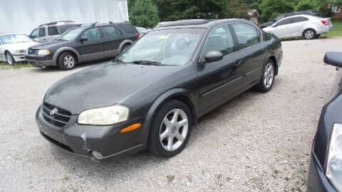 2000 Nissan Maxima for sale at Tates Creek Motors KY in Nicholasville KY
