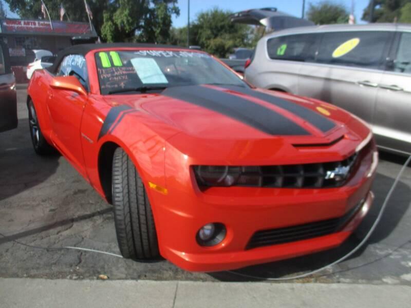 2011 Chevrolet Camaro for sale at Quick Auto Sales in Modesto CA