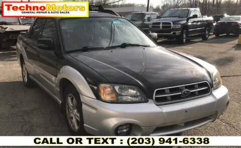2003 Subaru Baja for sale at Techno Motors in Danbury CT