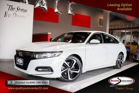 2018 Honda Accord for sale at Quality Auto Center of Springfield in Springfield NJ