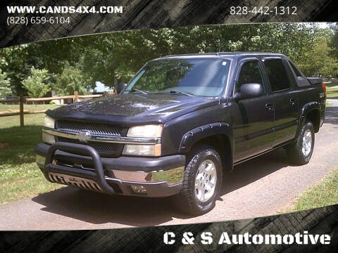 2004 Chevrolet Avalanche for sale at C & S Automotive in Nebo NC