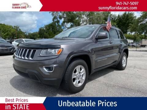 2014 Jeep Grand Cherokee for sale at Sunny Florida Cars in Bradenton FL