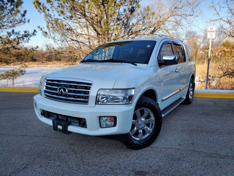 2007 Infiniti QX56 for sale at Excalibur Auto Sales in Palatine IL