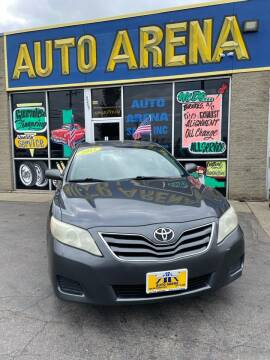 2011 Toyota Camry for sale at Auto Arena in Fairfield OH