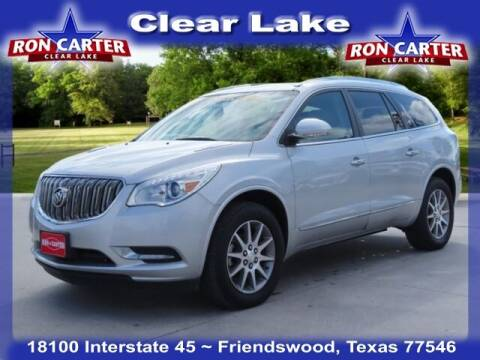 2016 Buick Enclave for sale at Ron Carter  Clear Lake Used Cars in Houston TX