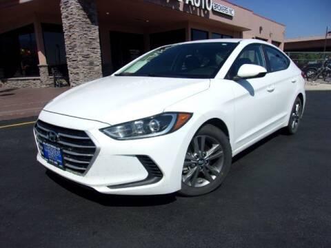 2018 Hyundai Elantra for sale at Lakeside Auto Brokers in Colorado Springs CO