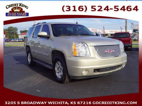 2012 GMC Yukon for sale at Credit King Auto Sales in Wichita KS