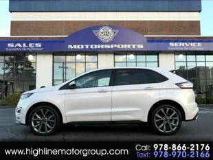 2017 Ford Edge for sale at Highline Group Motorsports in Lowell MA