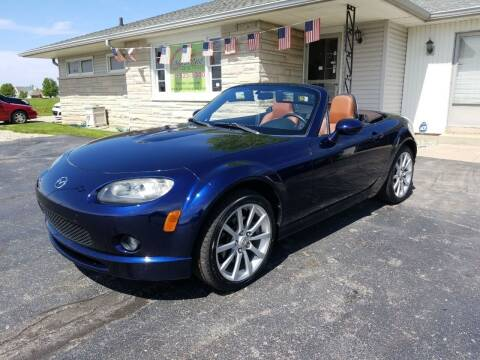 2008 Mazda MX-5 Miata for sale at CALDERONE CAR & TRUCK in Whiteland IN