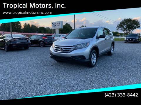 2014 Honda CR-V for sale at Tropical Motors, Inc. in Riceville TN