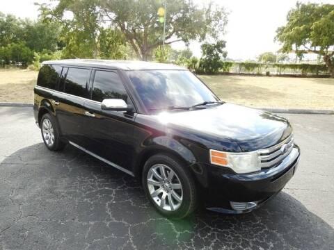 2012 Ford Flex for sale at SUPER DEAL MOTORS 441 in Hollywood FL